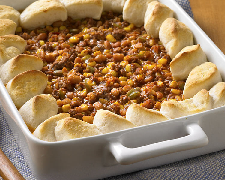 Hero - Sloppy Joe Biscuit Casserole